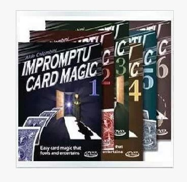 Aldo Colombini - Impromptu Card Magic(1-6) (Download)