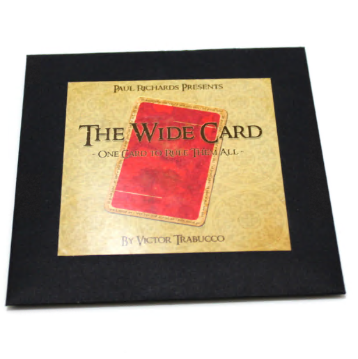 Wide Card by Victor Trabucco (Online Instructions)