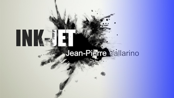 Ink-Jet by Jean-Pierre Vallarino 2018