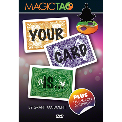 Your Card Is by Grant Maidment and Magic Tao (Video Download)