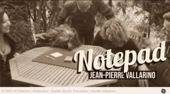 Notepad by Jean-Pierre Vallarino (MP4 Video Download FullHD Quality)