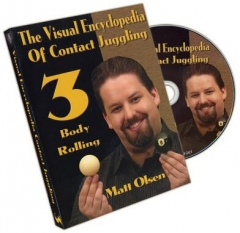 Visual Encyclopedia of Contact Juggling by Matt Olsen Vol 3 (Video Download)