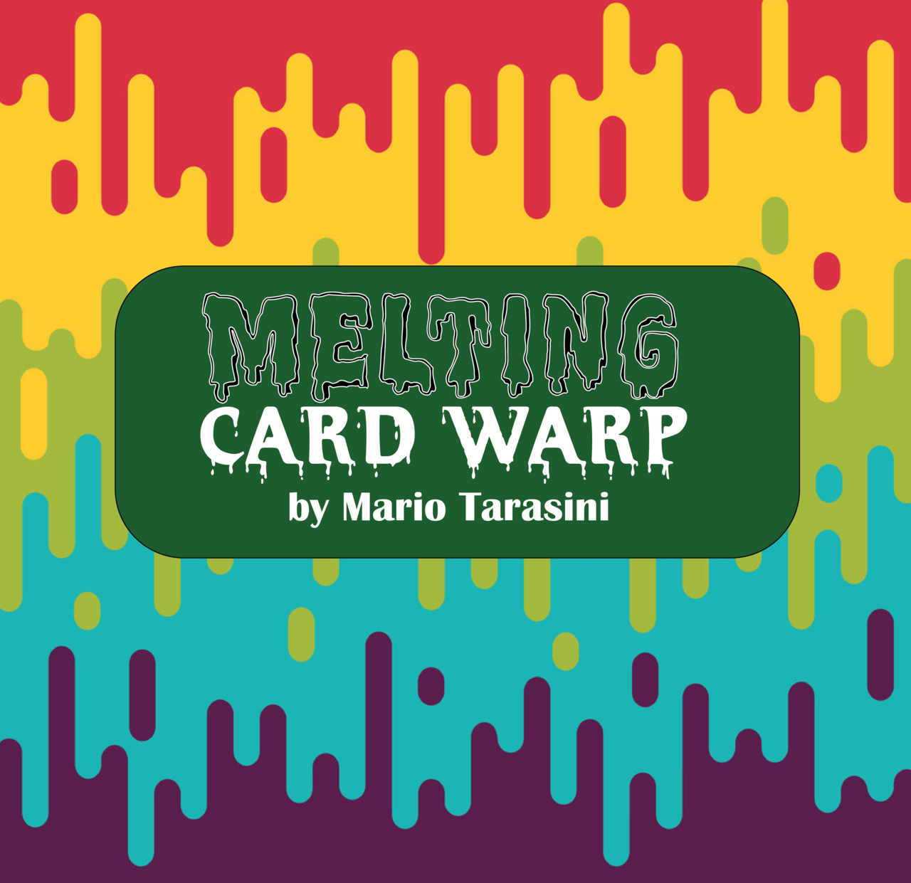Melting Card Warp by Mario Tarasini (MP4 Video Download)