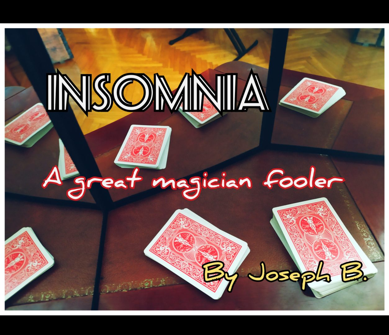 Insomnia by Joseph B (MP4 Video Download)
