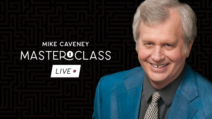 Mike Caveney - Vanishing Inc Masterclass Live (3 Weeks + Zoom) (MP4 Videos Download)