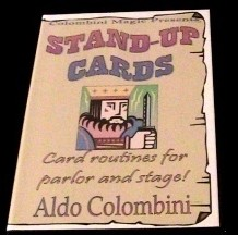 Aldo Colombini - Stand-Up Cards