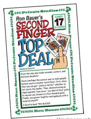 Ron Bauer - 17 Second Finger Top Deal