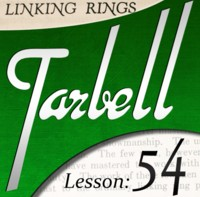 Tarbell 54: Chinese Linking Rings (Instant Download)
