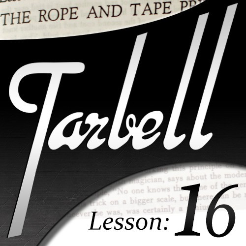 Dan Harlan - tarbell 16 Rope and Tape