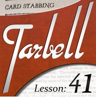 Tarbell 41: Card Stabbing (Instant Download)